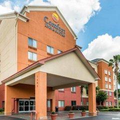 Отель Comfort Inn & Suites near Universal Orlando Resort вид на фасад фото 2