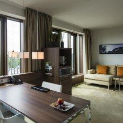 Отель Meliá Düsseldorf 4* Люкс разные типы кроватей фото 12