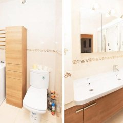 Апартаменты Apartment Zamoskvorechye Tsaritsyno ванная