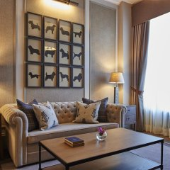Отель Intercontinental Edinburgh the George 5* Улучшенный люкс с различными типами кроватей фото 5