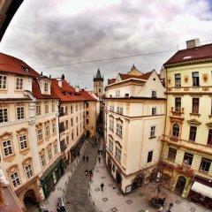 Hostel Homer Прага балкон