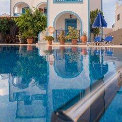 Отель Villa Margarita Греция, Остров Санторини - отзывы, цены и фото номеров - забронировать отель Villa Margarita онлайн бассейн фото 2