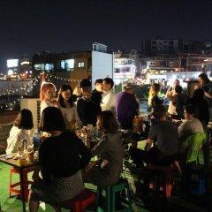 Pop @ Itaewon Boutique Guest House - Hostel Сеул приотельная территория