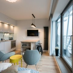 Отель EXCLUSIVE Aparthotel Улучшенные апартаменты с 2 отдельными кроватями фото 5