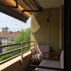 Отель Herbartstrasse Германия, Нюрнберг - отзывы, цены и фото номеров - забронировать отель Herbartstrasse онлайн балкон