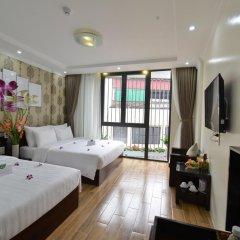 Hanoi Bella Rosa Suite Hotel 3* Представительский номер с различными типами кроватей фото 8