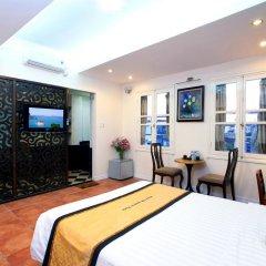 Hanoi Old Quarter Hotel 3* Стандартный номер двуспальная кровать фото 6