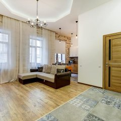 Апартаменты Apartments Vesta in Grivtsova Pereulok Санкт-Петербург комната для гостей фото 3