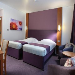 Отель Premier Inn Dubai International Airport комната для гостей фото 3