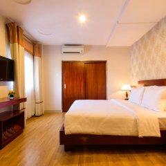 Hong Vy 1 Hotel 3* Улучшенный номер с двуспальной кроватью фото 2
