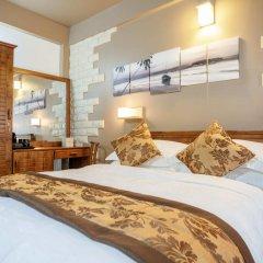 Отель The Vinorva Maldives 3* Номер Делюкс с различными типами кроватей фото 8