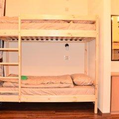 Хостел Белокоричи Кровать в общем номере фото 16