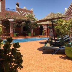 Отель Le Petit Riad Марокко, Уарзазат - отзывы, цены и фото номеров - забронировать отель Le Petit Riad онлайн бассейн фото 2