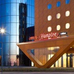 Отель Хэмптон бай Хилтон Санкт-Петербург Экспофорум 3* Стандартный номер фото 9