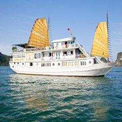 Отель Halong Golden Lotus Cruise пляж