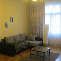 Апартаменты Classical Apartment in Downtown Будапешт комната для гостей фото 5