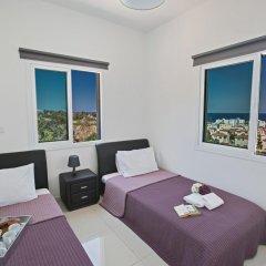 Отель Villa Margarita Bay Кипр, Протарас - отзывы, цены и фото номеров - забронировать отель Villa Margarita Bay онлайн комната для гостей фото 4