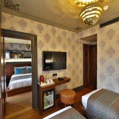 Sanat Hotel Pera Boutique 3* Стандартный семейный номер с различными типами кроватей