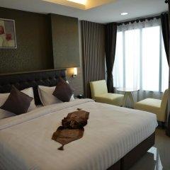 Picnic Hotel Bangkok 3* Стандартный номер с различными типами кроватей фото 15