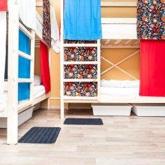 Гостиница Hostels Rus Vnukovo Кровати в общем номере с двухъярусными кроватями фото 13