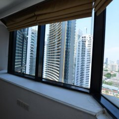 Отель President Park - Ebony Towers - unit 11A Бангкок балкон
