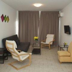 Апартаменты Anemos Apartments комната для гостей фото 3