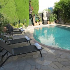 Отель Hôtel La Villa Cannes Croisette Франция, Канны - отзывы, цены и фото номеров - забронировать отель Hôtel La Villa Cannes Croisette онлайн бассейн