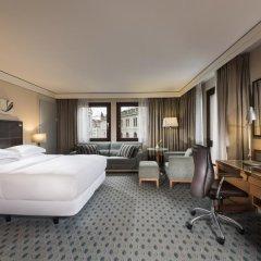 Отель Hilton Dresden 4* Стандартный номер с различными типами кроватей фото 3