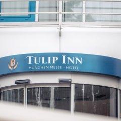 Отель Tulip Inn Muenchen Messe Мюнхен городской автобус