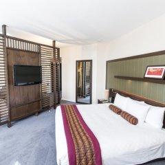 Отель Hilton London Canary Wharf 4* Стандартный номер с двуспальной кроватью фото 3