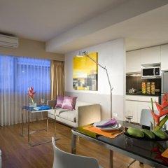 Отель Citadines Bangkok Sukhumvit 23 4* Студия Делюкс фото 4