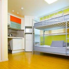 KW Hongdae Hostel комната для гостей фото 4