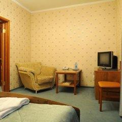 Отель Лермонтов Омск комната для гостей фото 9
