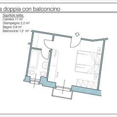 Отель Albergo Ristorante Carenno 2* Стандартный номер фото 6