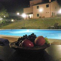 Отель Villa Vallocchia Сполето бассейн фото 2