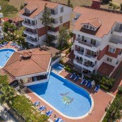 Апартаменты Irem Garden Apartments Апартаменты с различными типами кроватей фото 9