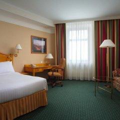 Гостиница Марриотт Москва Гранд 5* Номер Делюкс с различными типами кроватей фото 10