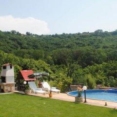 Отель Villa Rosa Балчик бассейн