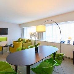 Thon Hotel Brussels City Centre 4* Люкс с двуспальной кроватью фото 10