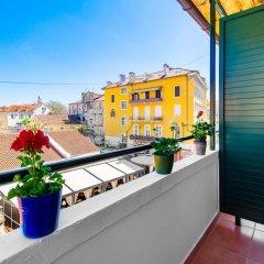 Апартаменты Captain's Apartments балкон