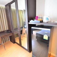 Отель H-Residence 3* Улучшенный номер с различными типами кроватей фото 11