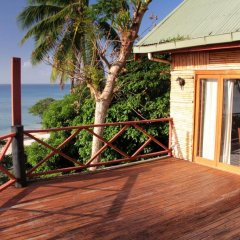 Отель Maravu Taveuni Lodge балкон