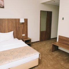 Гостиница SkyPoint Шереметьево 3* Улучшенный номер с двуспальной кроватью фото 3