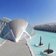 Отель ApartUP Blue Opera View Испания, Валенсия - отзывы, цены и фото номеров - забронировать отель ApartUP Blue Opera View онлайн бассейн фото 3