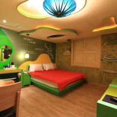 Haeundae Grimm Hotel 2* Номер Делюкс с различными типами кроватей фото 39