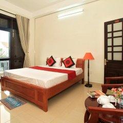 Отель Hoi An Hao Anh 1 Villa Улучшенный номер с различными типами кроватей