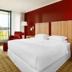 Отель Four Points By Sheraton Munich Central 4* Улучшенный номер с разными типами кроватей фото 2