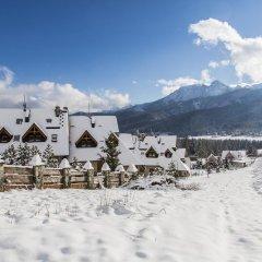 Отель udanypobyt Domy Mountain Premium Косцелиско спортивное сооружение