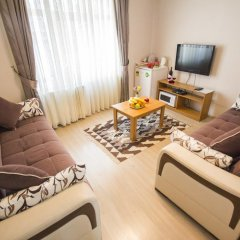 Апартаменты Feyza Apartments Апартаменты с различными типами кроватей фото 6