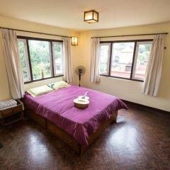 Отель Swayambhu View Guest House Непал, Катманду - отзывы, цены и фото номеров - забронировать отель Swayambhu View Guest House онлайн комната для гостей фото 5